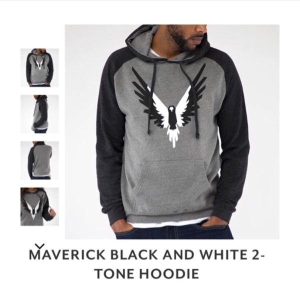 Used Maverick 2 Tone Hoodie by Logan Paul in Dubai, UAE