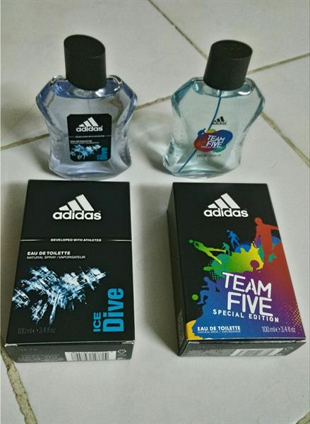 Used Adidas. Perfume..100ml..2pcs... in Dubai, UAE
