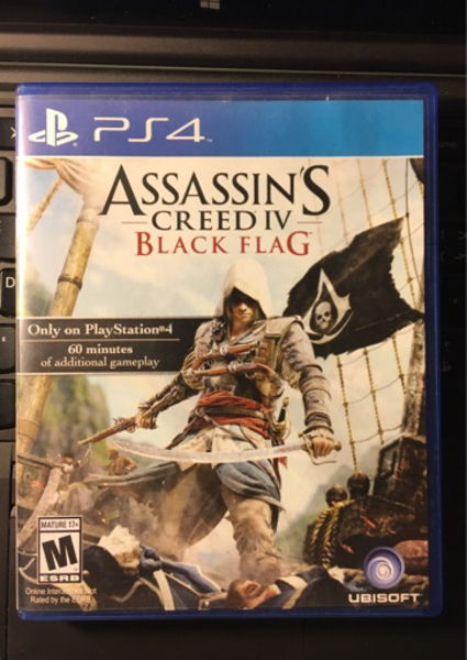 Used Assassins Creed Black Flag (PS4 Game) in Dubai, UAE