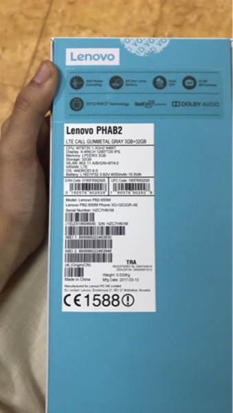 Lenovo phab 2 ,32GB black