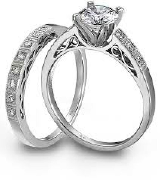 Used Couple diamon ring in Dubai, UAE