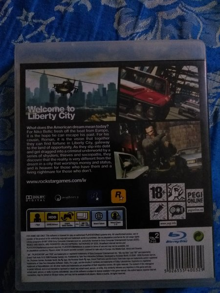 GTA 4 PS3, p346927 - Melltoo com