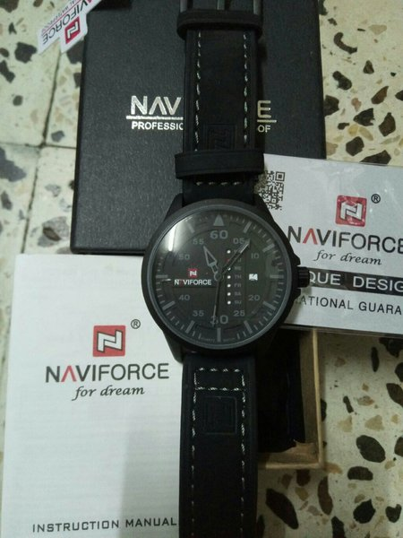 Used Original Navi force Watch w/1yr Warranty in Dubai, UAE
