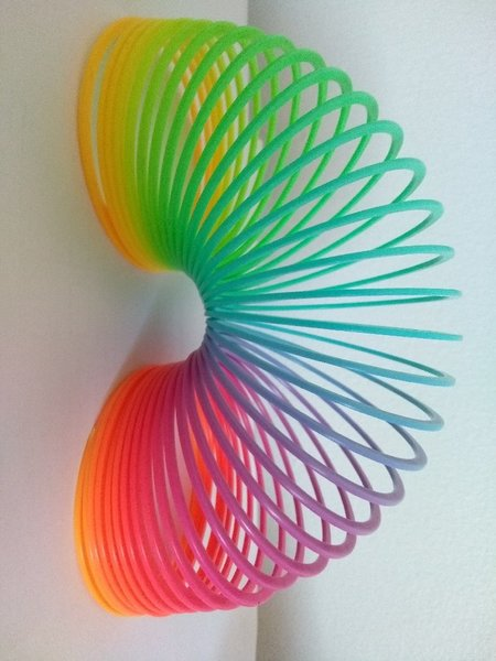 Used Rainbow Slinky Toy in Dubai, UAE