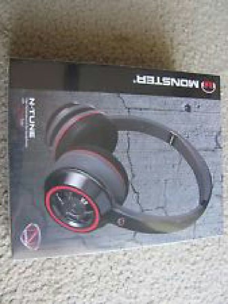 Used Monster NCredible NTune Headphones Black in Dubai, UAE
