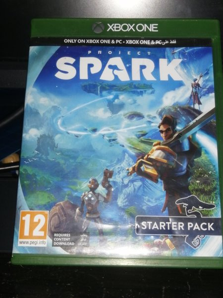 Used Spark game for Xbox one.best game in Dubai, UAE