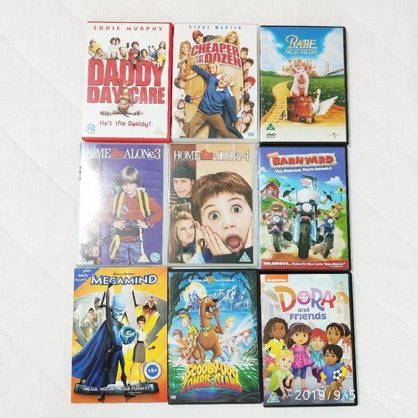 Used 9 pcs Original DVDs in Dubai, UAE