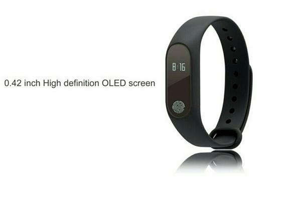 Used IP67 Waterproof Smart Wristband M2 Bluetooth Smart Heart Rate Sleep Monitor Smart Bracelet  in Dubai, UAE