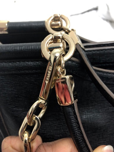 Used Authentic Coach bag with sling in Dubai, UAE