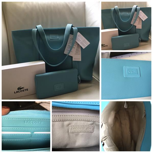 b10fe08eef Used #thepopupfiesta Authentic Lacoste Bag With Wallet From US. in Dubai,  UAE