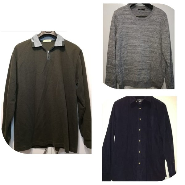 Used 3 men fashionable pullovers size XL in Dubai, UAE