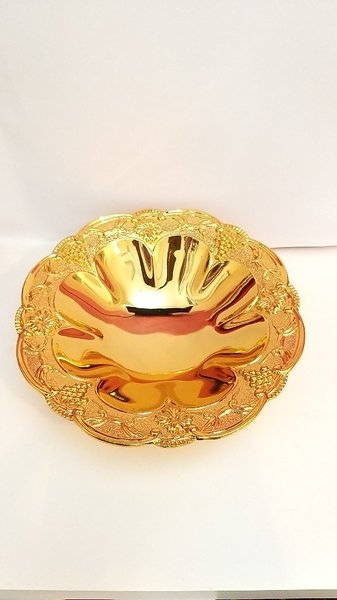 Used 24k Goldplate Fruit Bowl in Dubai, UAE