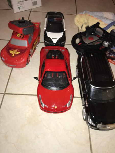 Used 4 remote control cars 25 aed each in Dubai, UAE