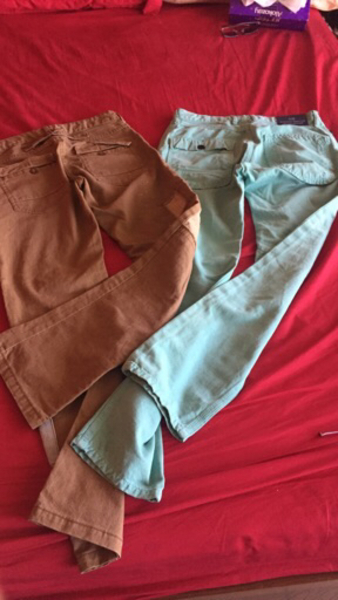 Used Scotch&soda brand 2 trousers  in Dubai, UAE