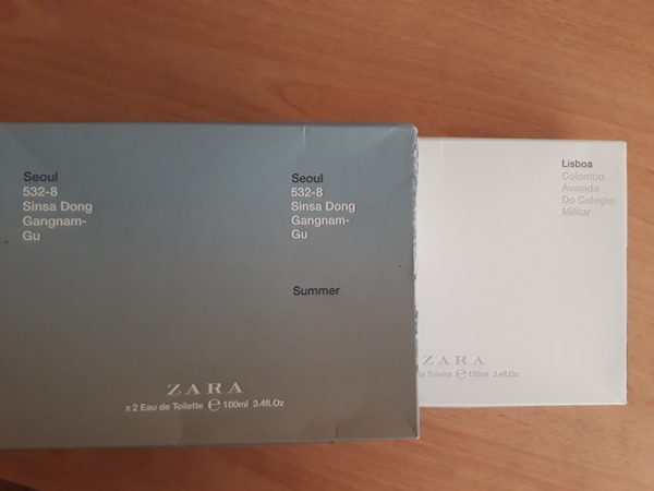 Used ZARA Fragrance - 3 UNUSED in Dubai, UAE