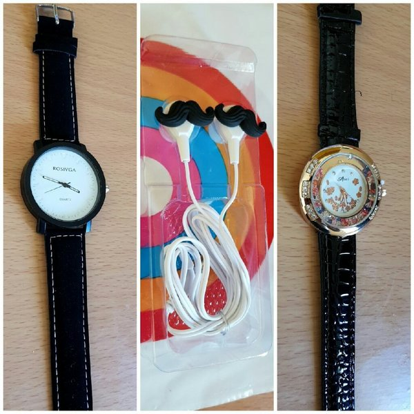 Used Men Watch+Ladies Watch+Splash HQ stereo in Dubai, UAE