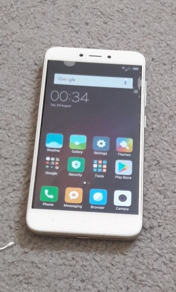 MI 4x 32gb PHONE Used Only Phone no Other Accesories