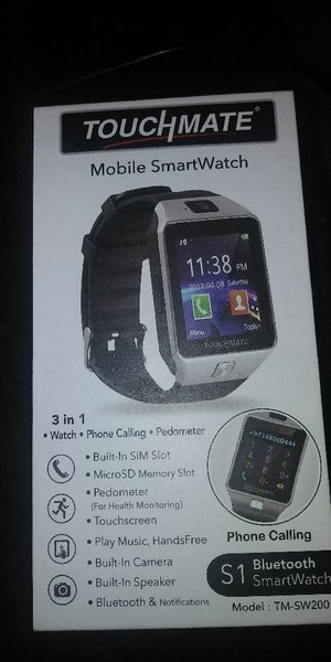 Used Touchmate mobile smart watch in Dubai, UAE