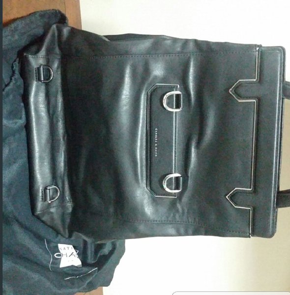 Used Charles and Keith leather bag in Dubai, UAE