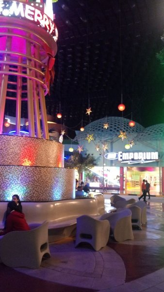 Used IMG Worlds of adventure with free buffet in Dubai, UAE
