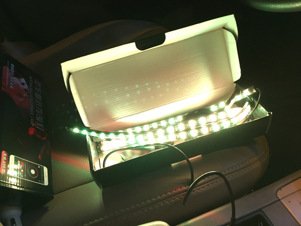 Multiple Colour Led Can Be Fix In Any Car