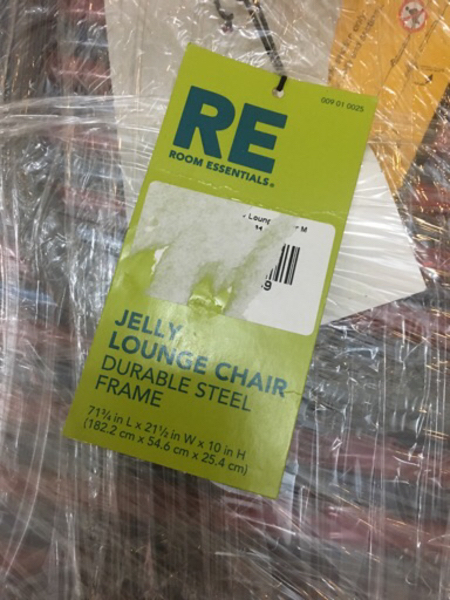 Used Brand new jelly lounge chair in Dubai, UAE