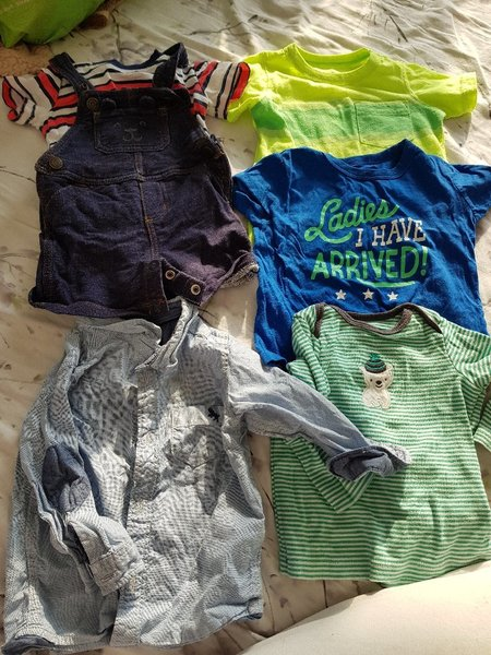 Used Baby boy clothes (size6-9 months) in Dubai, UAE