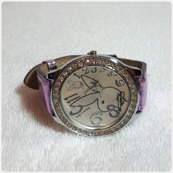 Used Beautiful Purple watch fashion for lady in Dubai, UAE