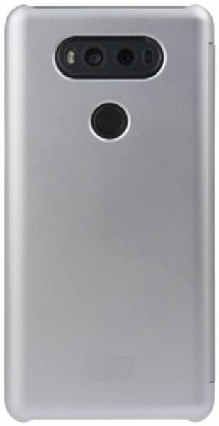 Used Quick ClearView Cover for LG G6-Silver in Dubai, UAE