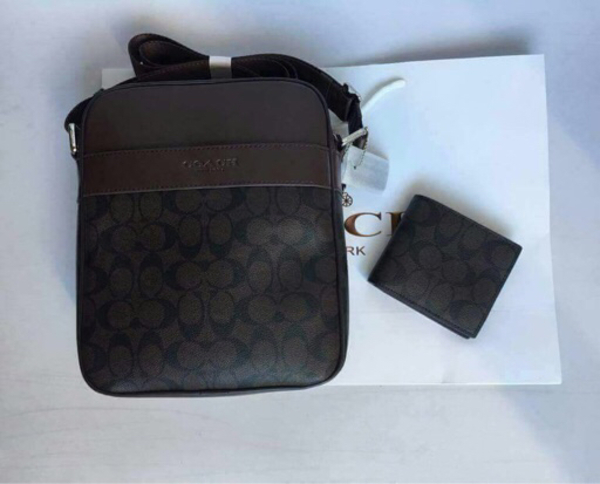 Used Coach sling bag and wallet in Dubai, UAE