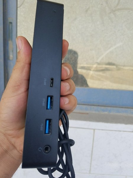 Used Dell dock station universal in Dubai, UAE