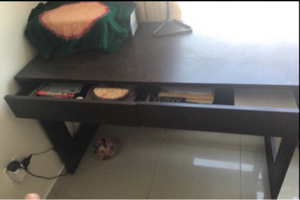 Used Reduced Table-price  with 2 Drawers  in Dubai, UAE