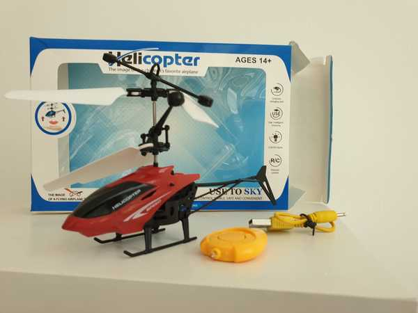 Used New flying helicopter with remote in Dubai, UAE