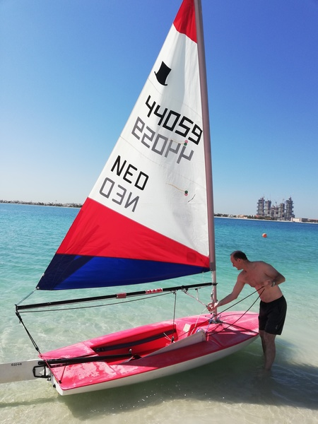 Used Sailing Dinghy in Dubai, UAE