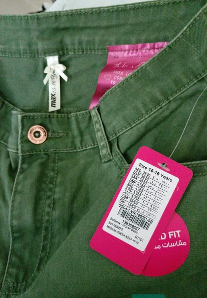 Used Girls jeans from Max in Dubai, UAE