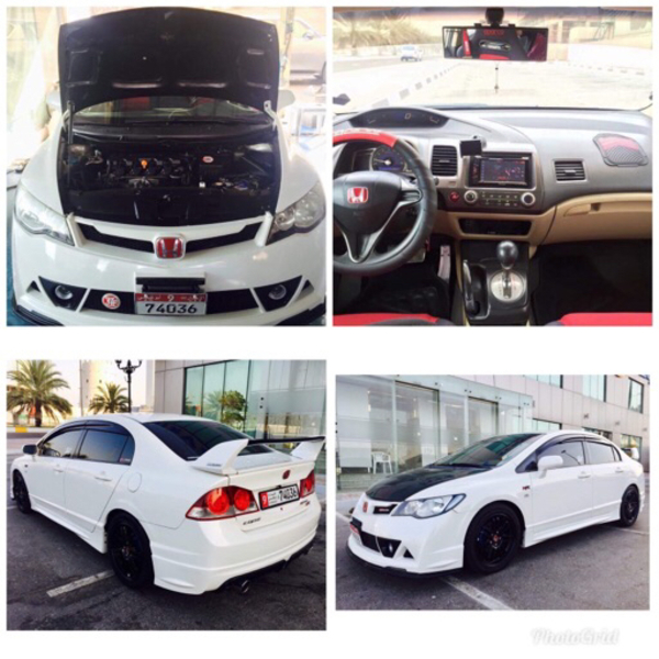 Used Honda Civic 250k in Dubai, UAE