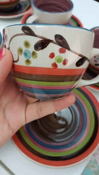 Used Lovely Tea Cups Set💞- 12 pieces ☕☕☕☕ in Dubai, UAE
