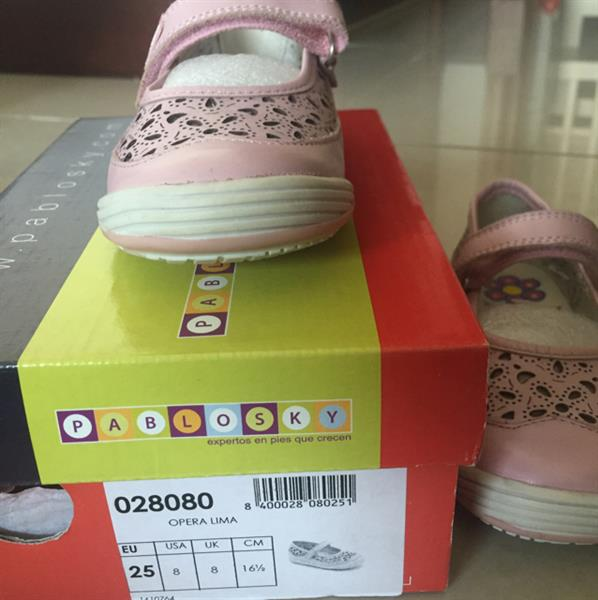 Used #Pablosky Gilrs Light Pink Shoes  in Dubai, UAE