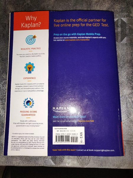 Used kaplan GED Test Prep 2019 in Dubai, UAE