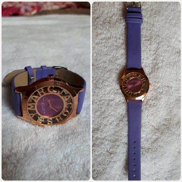 Used Golden purple watch in Dubai, UAE