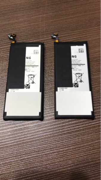 Used Samsung s7 battery original 100% in Dubai, UAE