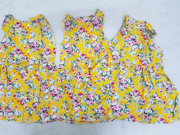 Used 4 sets 3 years old baby girl clothes x4 in Dubai, UAE