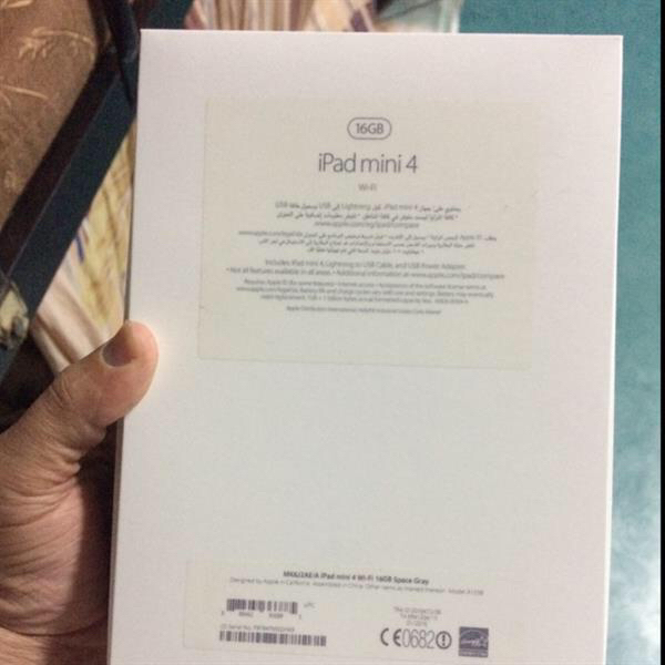 Used Apple Ipad 4 Mini,16Gb. Look Like New with Box, Charger, Cover Case & Receipt. Bought In Sharaf DG. Space Gray Color.  in Dubai, UAE