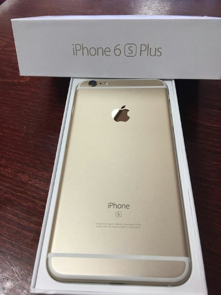 Original apple iPhone 6s plus gold color