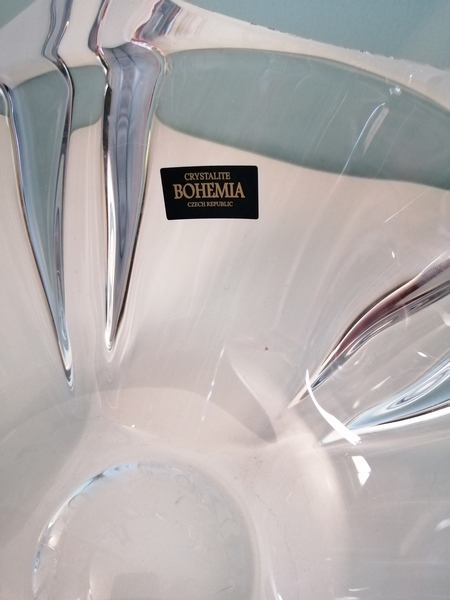 Used Crystal bowl (Bohemia) in Dubai, UAE