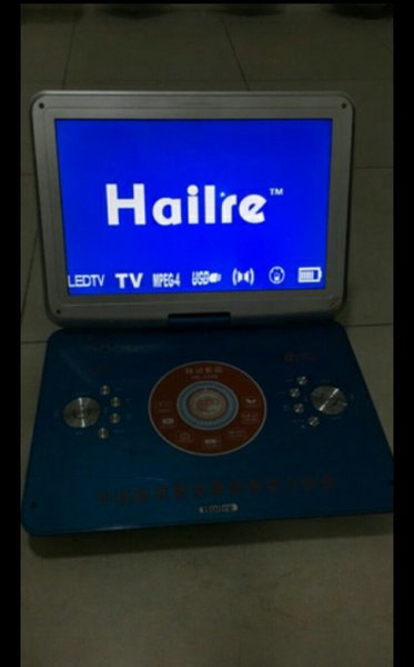 Used 15 inch Led portable DVD, USB Player in Dubai, UAE