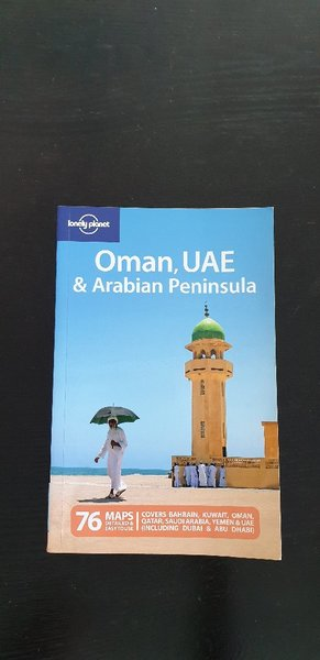 Used Lonely Planet Oman, UAEarabian peninsula in Dubai, UAE