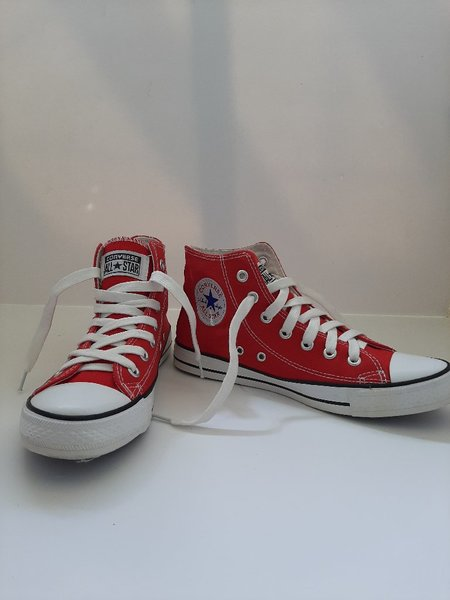 Used Coverse AllStar Red Hi-Top US7.5, Eu39 in Dubai, UAE