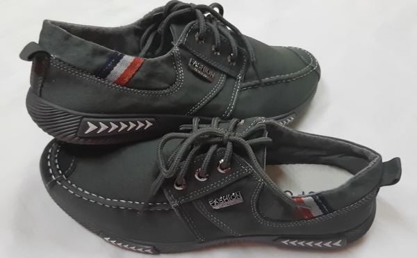 Used Uptrend fashion men's casual shoes grey in Dubai, UAE