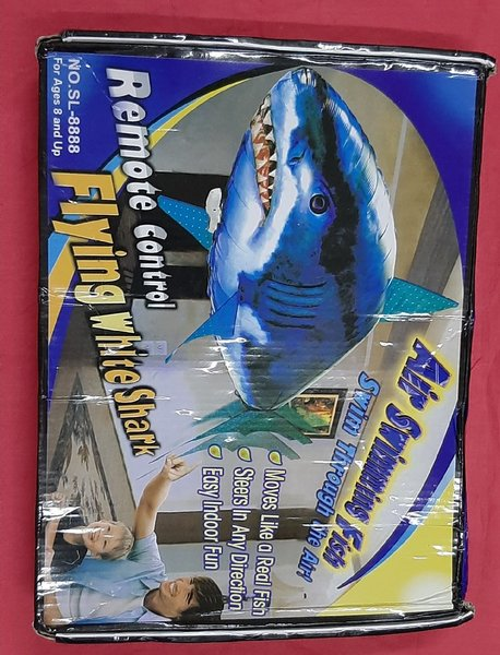 Used Remote control flying white shark in Dubai, UAE